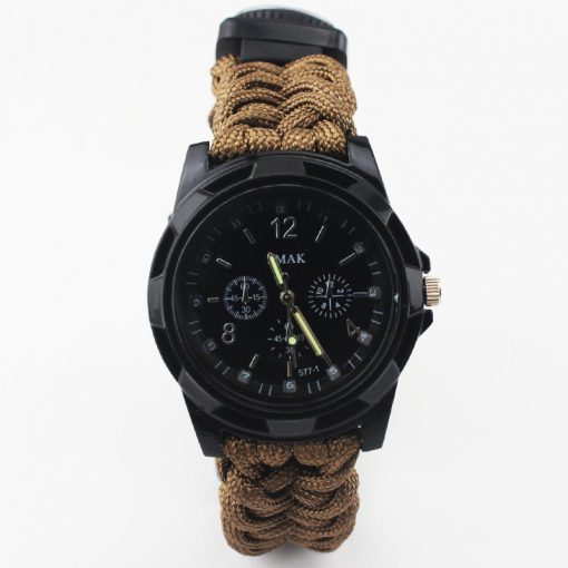 Multi-functional Survival Paracord Watch 4