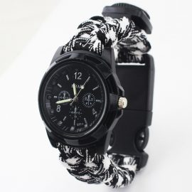 Multi-functional Survival Paracord Watch 1