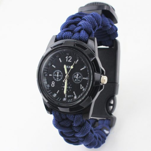 Multi-functional Survival Paracord Watch 3