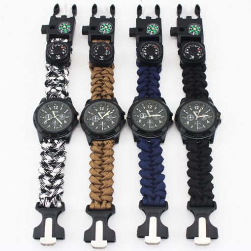 Multi-functional Survival Paracord Watch 5