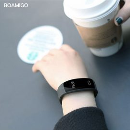 Sleek Smart Watch Fitness Band - iOS & Android 1